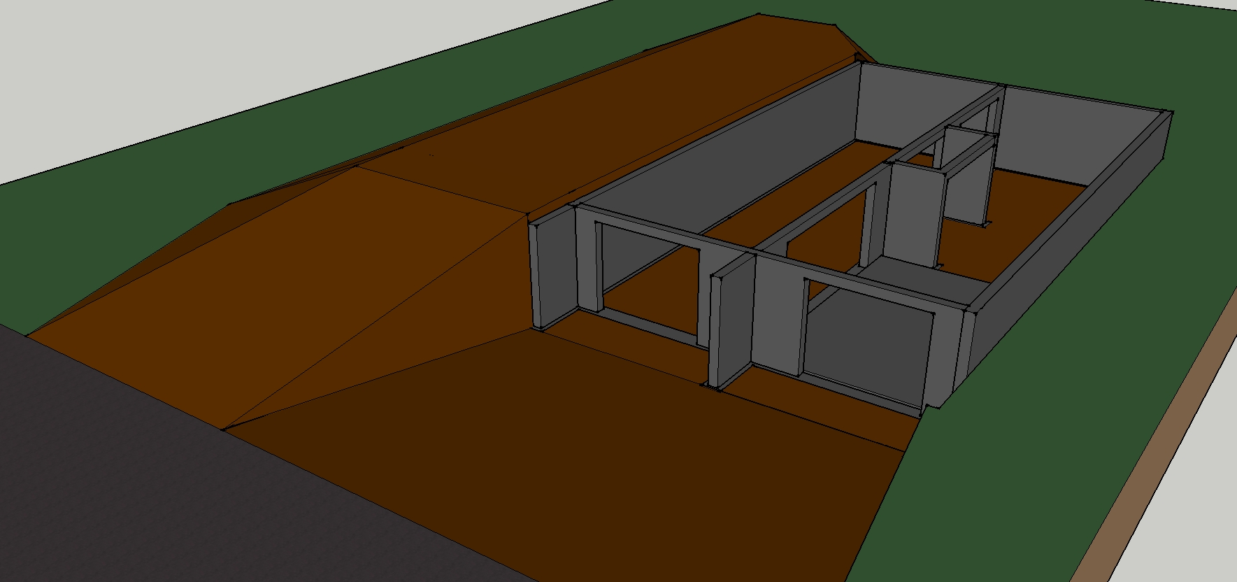 Maison ossature bois modulable for Alarme garage sous sol